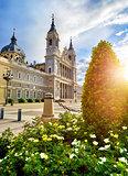 Madrid, Spain. Cathedral Santa Maria la Real