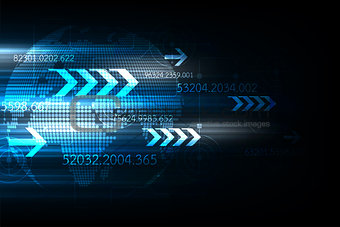 Fast communication system around the world.