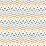 Scandinavian style art with chevron pattern