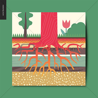 Simple things - tree roots