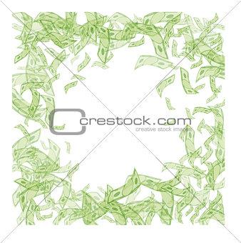 money paper border