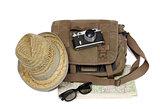 Bag and old camera
