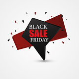 Black Friday Sale Abstract Background.
