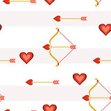Heart Arrows Tile