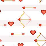 Heart Arrows Tile