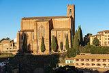 Basilica of San Domenico - Siena Italy