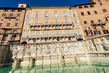 The Fonte Gaia - Siena Toscana Italy