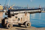 Old Naval Cannon - La Spezia Italy