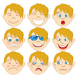 Blond Boy Emoji Emoticons