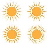 Sun flat design