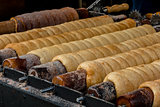 Trdelnik or trdlo national czech street food