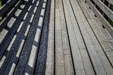 abstract texture of a wooden ladder