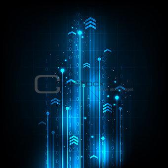 Digital speed communication technology.