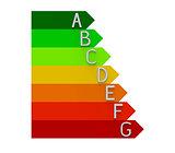 Energy efficiency, 3d rendering