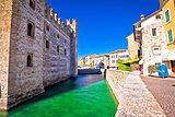 Lago di Garda town of Sirmione landmarks view