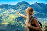 Traveler girl
