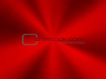 Red Technology Metal Background