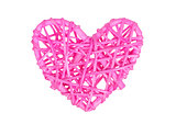 Small heart isolated - Pink