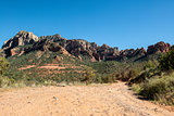 View from Schnebly Hill Road in Sedona, Arizona