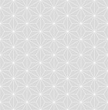Japanese subtle gray seamless vector pattern