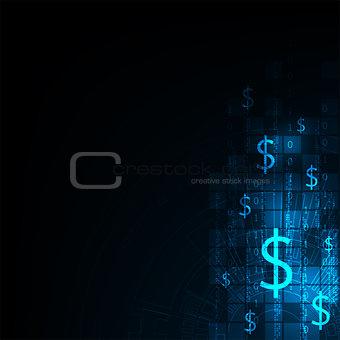 Technology in the concept of electronic money.