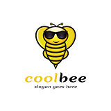 Cool Bee Logo