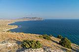 The Black Sea coast. Crimea, September.