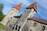 Medieval city fortifications around Tallinn Old Town, Estonia