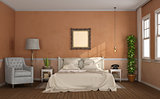 Master bedroom in classic style