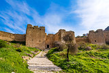 Castle of Acrocorinth, Upper Corinth, the acropolis of ancient Corinth