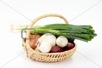 Four sorts of onions