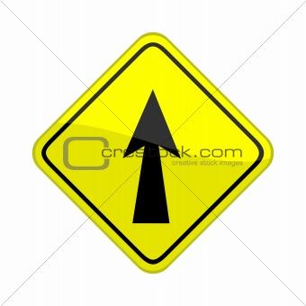 ahead arrow