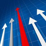 financial arrows stat