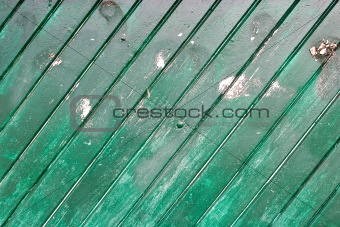 Green Wood Wall