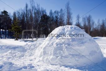 Igloo in Winter