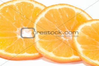 Three part of orange