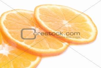 Three part of orange