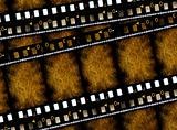 Old 35 mm movie Film