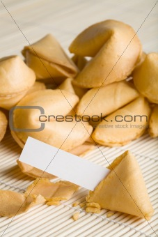 fortune cookie blank