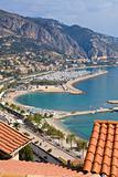 Menton, Cote d'Azur, France