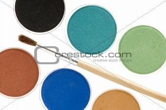 water-colour macro