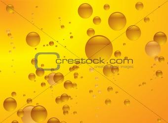 amber bubble