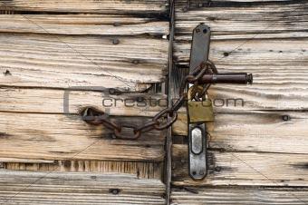Closed gate