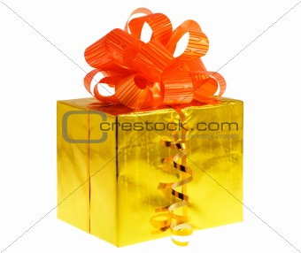 box gift golden