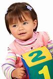 preschool girl smiling