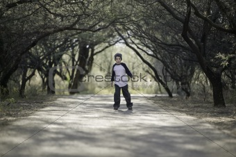 Boy on a Path