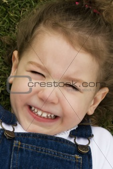 Little Girl in the Grass