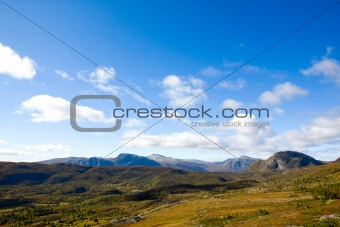 Norwegian Mountain Range