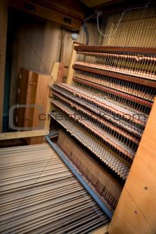 Old Pipe Organ Interior