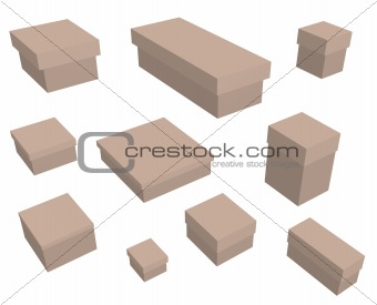 10 boxes
